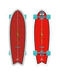 "Yow Pipe 32"" Complete Surfskate Power Surfing Series"