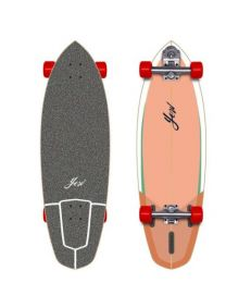 """Yow Rapa Nui 32"""" Complete Surfskate The First"""
